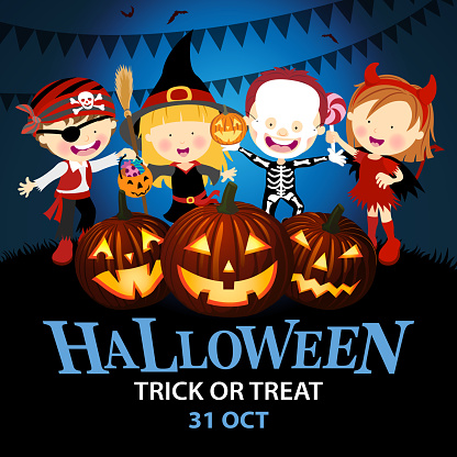 Kids Halloween Costume Party