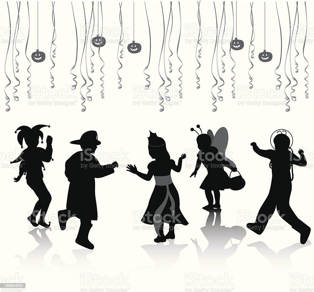 KidsHalloween - ilustración de arte vectorial