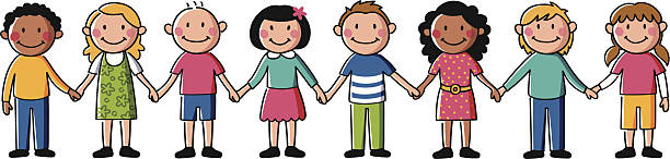 Image result for children holding hands clipart