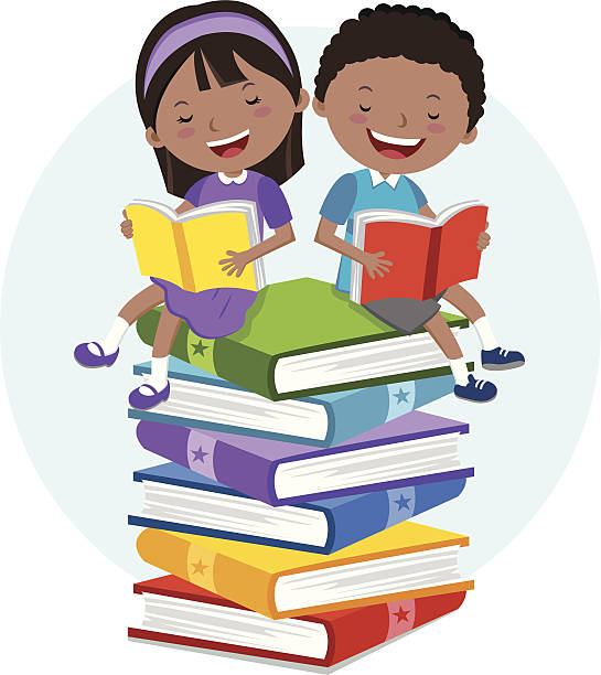 Books and Reading Clipart (Karen's Kids Clipart) – Karen's Kids Studio