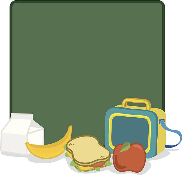 kids luncbox - lunch box stock illustrations, clip art, cartoons, & icons