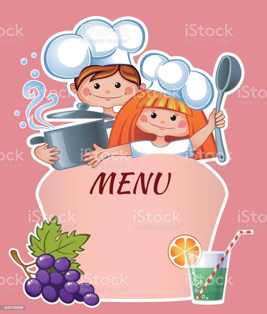 Menu Templates For Kids Sample Of A Sponsorship Letter Invoice Kids Menu  Template Vector Id846726598 Menu