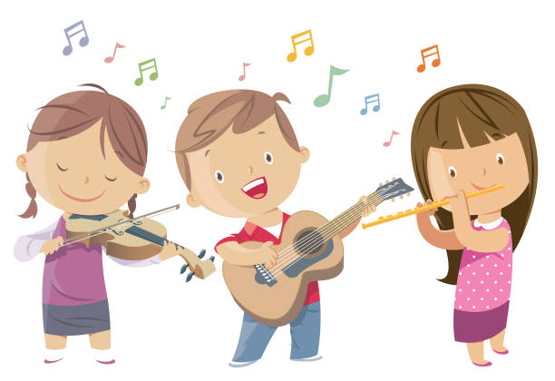 Royalty Free Playing Flute Clip Art, Vector Images ...