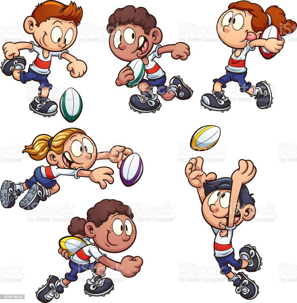 """Résultat de recherche d'images pour """"rugby enfant clipart"""""""