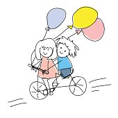 Kids Ride Doodles