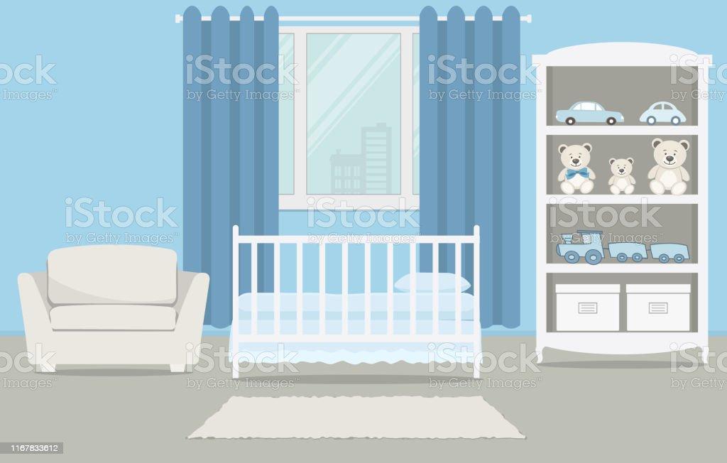 Kinderzimmer Fur Ein Neugeborenes Baby Innenschlafzimmer Fur Einen