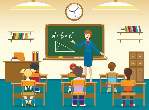 Primary school stock illustrations