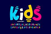 istock Kids style playful font 1225067829