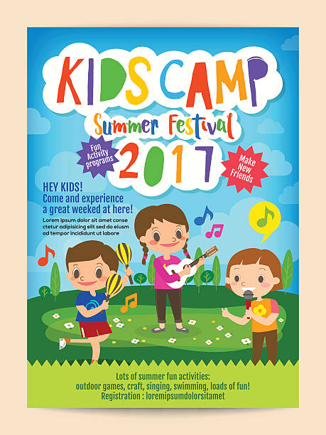 Top 60 Kids Camp Clip Art Vector Graphics And Illustrations Istock