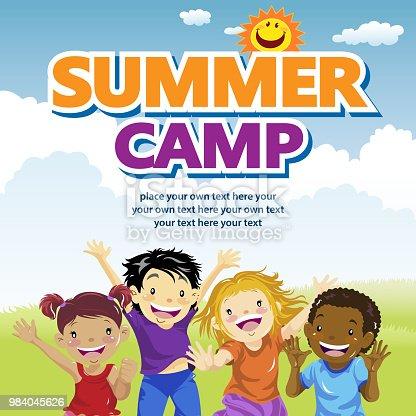 istock Kids Summer Camp 984045626