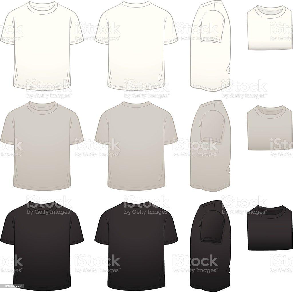 Paquete Camiseta De Plantillas Para Niños - Arte vectorial de stock ...
