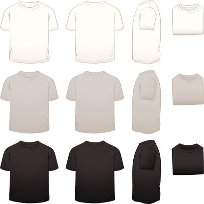Kids' T-shirt Template Package