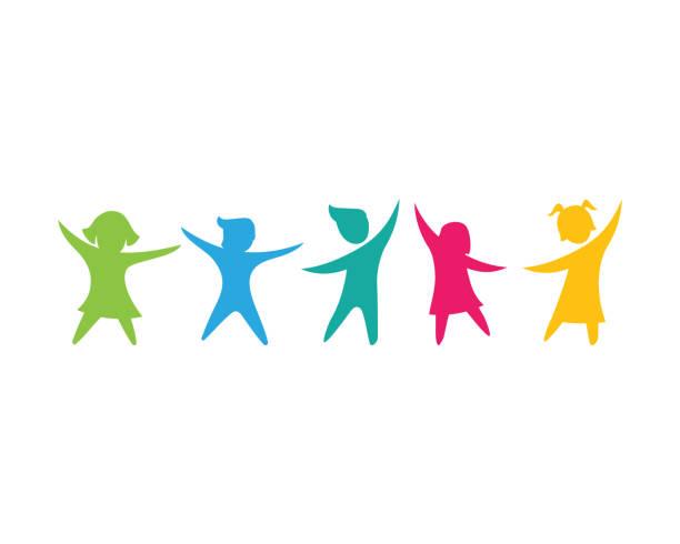 illustrazioni stock, clip art, cartoni animati e icone di tendenza di illustrazione vettoriale bambini - bambino