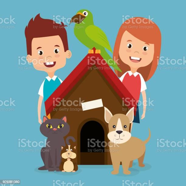 Kids with pets characters vector id929381380?b=1&k=6&m=929381380&s=612x612&h=uw00wod9rqzfltuyg41ojffdzndp6gv grvkltxgrr8=