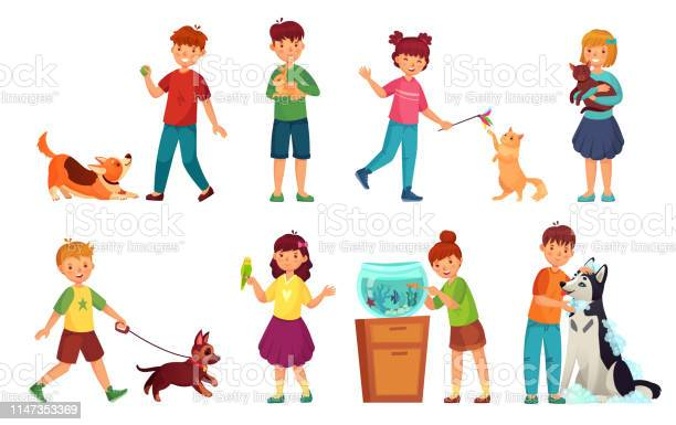Kids with pets kid hug pet child love animals and playing with dog or vector id1147353369?b=1&k=6&m=1147353369&s=612x612&h=agthvk4hhzi5zluma r6fvn8wee aijvrj0zfgs6ixa=