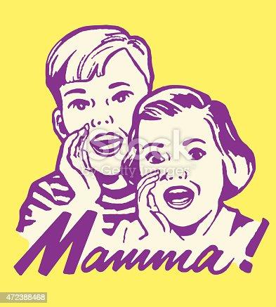 istock Kids Yelling Mamma 472388468