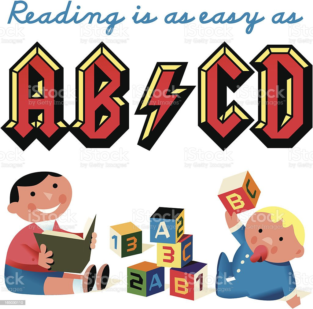 Download Kidz Abcd Stock Illustration - Download Image Now - iStock