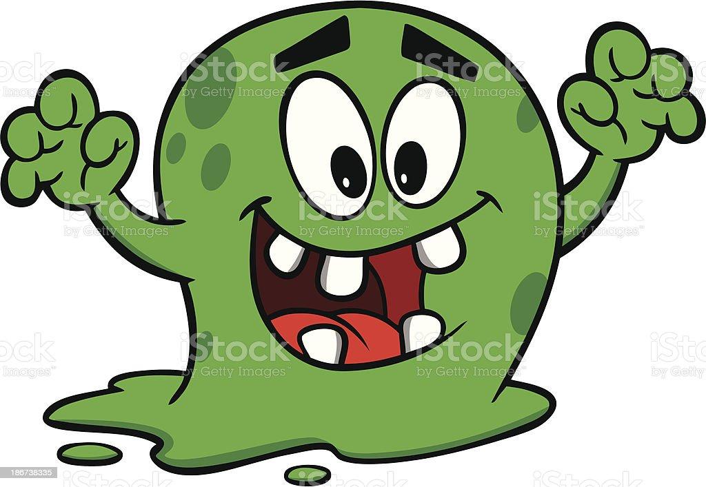Killer Germ royalty-free stock vector art