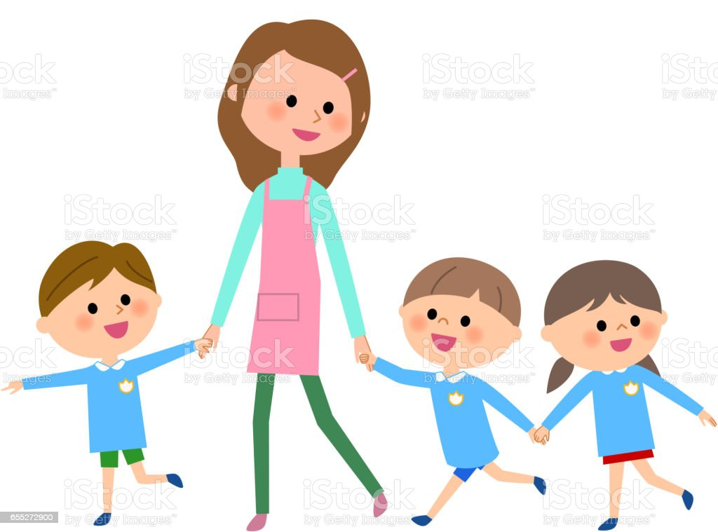 royalty free daycare center clip art vector images illustrations rh istockphoto com child care centre clipart childcare clipart free