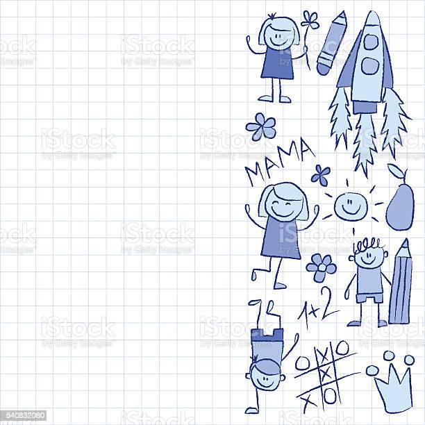 Kindergarten doodle pictures on notepad paper vector id540832080?b=1&k=6&m=540832080&s=612x612&h=fn3ldudpd4o8nwovqjzysgcsi1   edbbw1t6gcjrus=