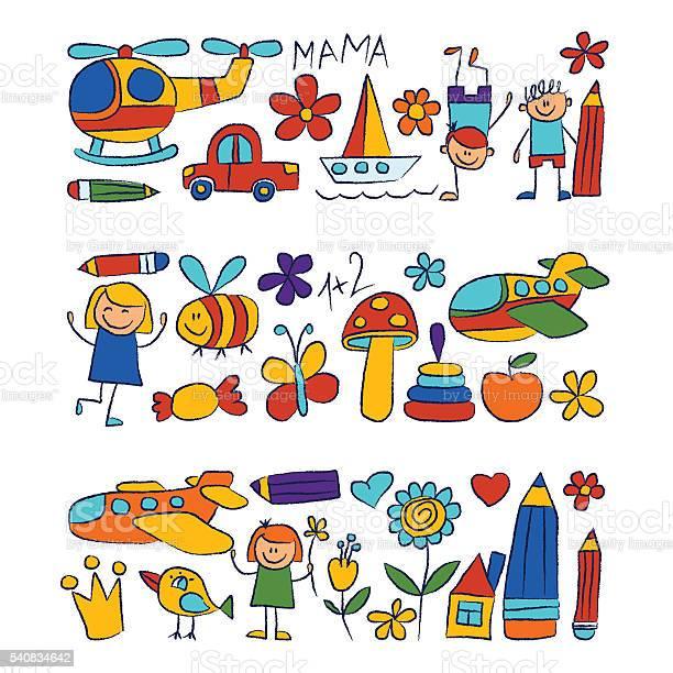 Kindergarten doodle pictures on white background vector id540834642?b=1&k=6&m=540834642&s=612x612&h=7ja0qttxnoponhmcu9jvd5ysipazh hvcvy4ak3hwve=