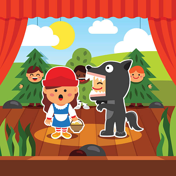 Best Kids Theater Illustrations, Royalty-Free Vector ...