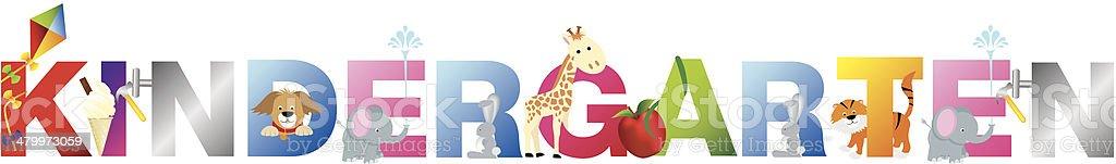 kindergarten royalty-free kindergarten stock illustration - download image now
