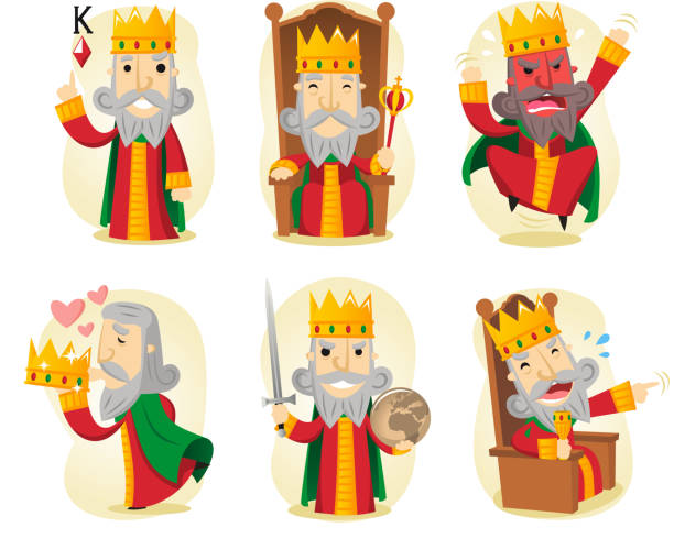 Aktion mit King-Size-Bett – Vektorgrafik