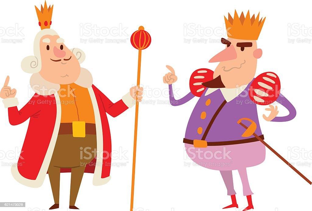 King Cartoon Vector Character Stock Vector Art & More ...