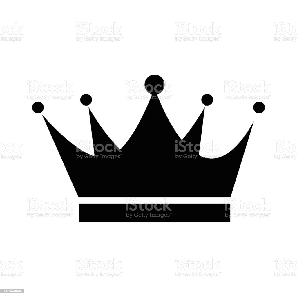 king crown isolated icon stock vector art more images of antique rh istockphoto com king crown vector art king crown vector free