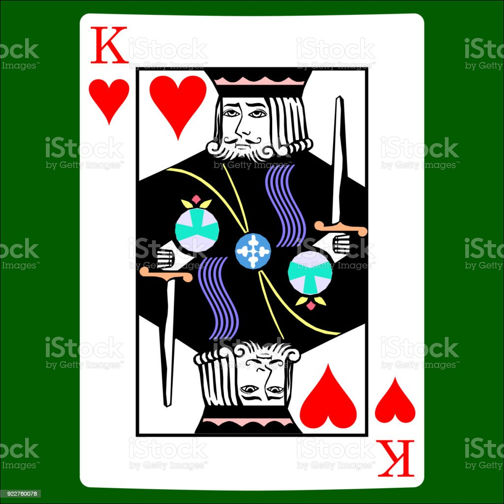 King hearts card suit icon vector playing cards symbols vector set card suit icon vector playing cards symbols vector set icon symbol biocorpaavc