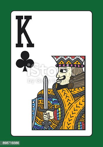 istock King of clubs 898716586