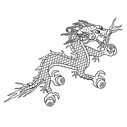 Kingdom of Bhutan Druk (Thunder Dragon) Symbol