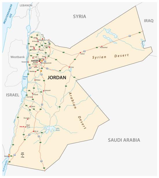 Kingdom of jordan road map stock vector art more images of amman kingdom of jordan road map stock vector art more images of amman 1012408150 istock publicscrutiny Choice Image