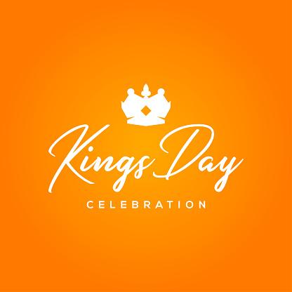 Kings Day Vector Design April