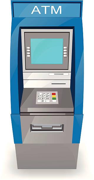 ATM-Kiosk – Vektorgrafik