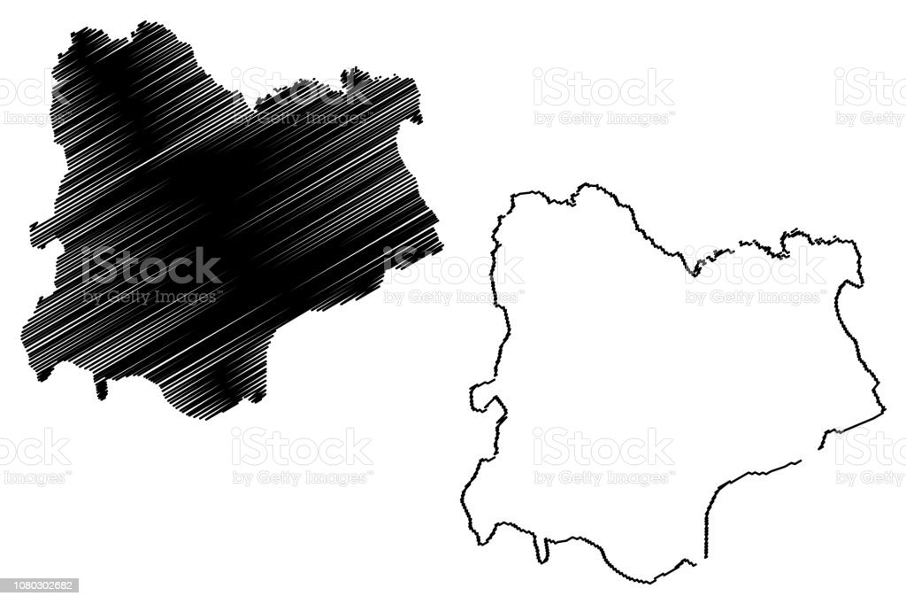 Kirklareli Map Vector Stock Vector Art & More Images of Abstract ...