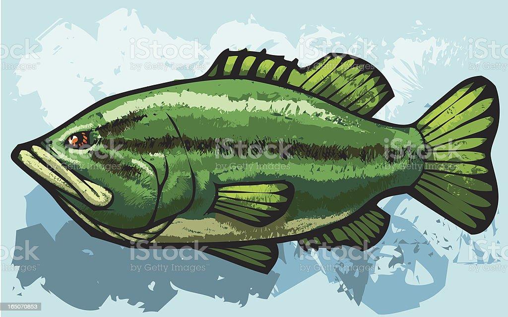 kiss my bass royalty-free stock vector art
