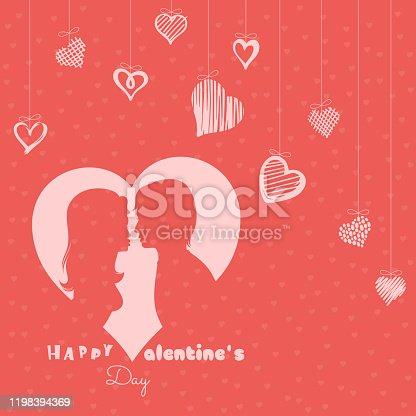 istock Kiss of Love. Valentine's Day. 1198394369