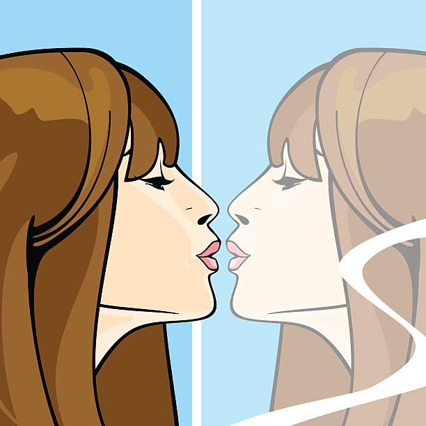 키스 - kiss stock illustrations