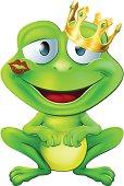 Kissed frog prince