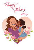 istock Kissing mom with love 1313372079
