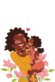 istock Kissing mom with love 1313372086