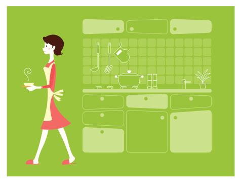 Kitchen and madam
