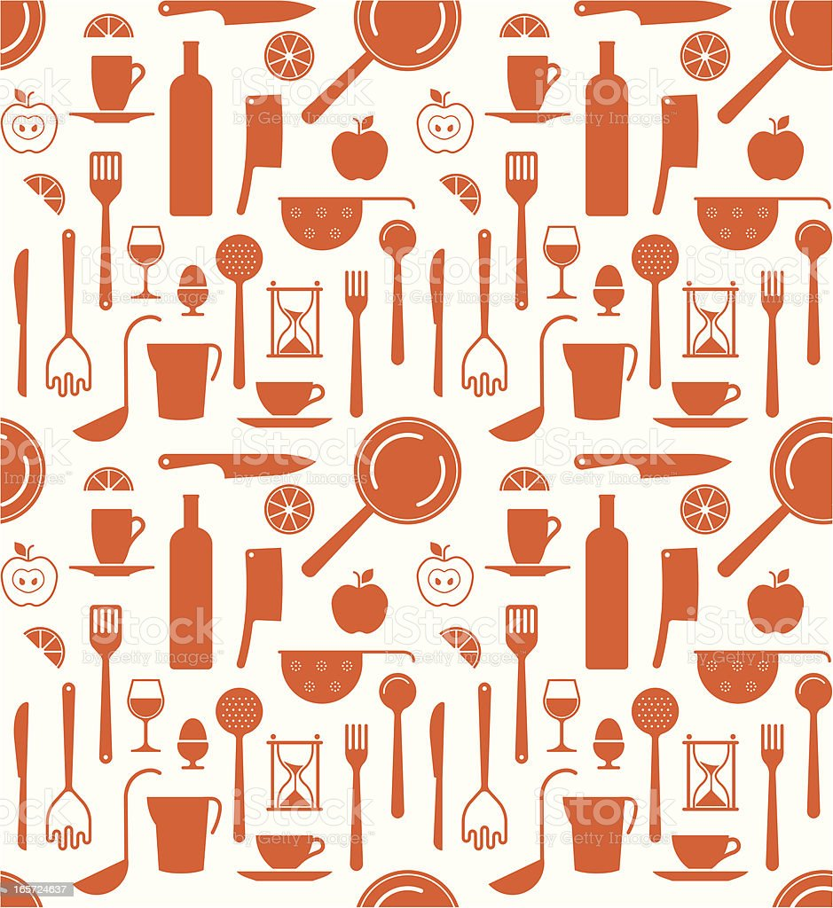 Kitchen background royalty-free stock vector art