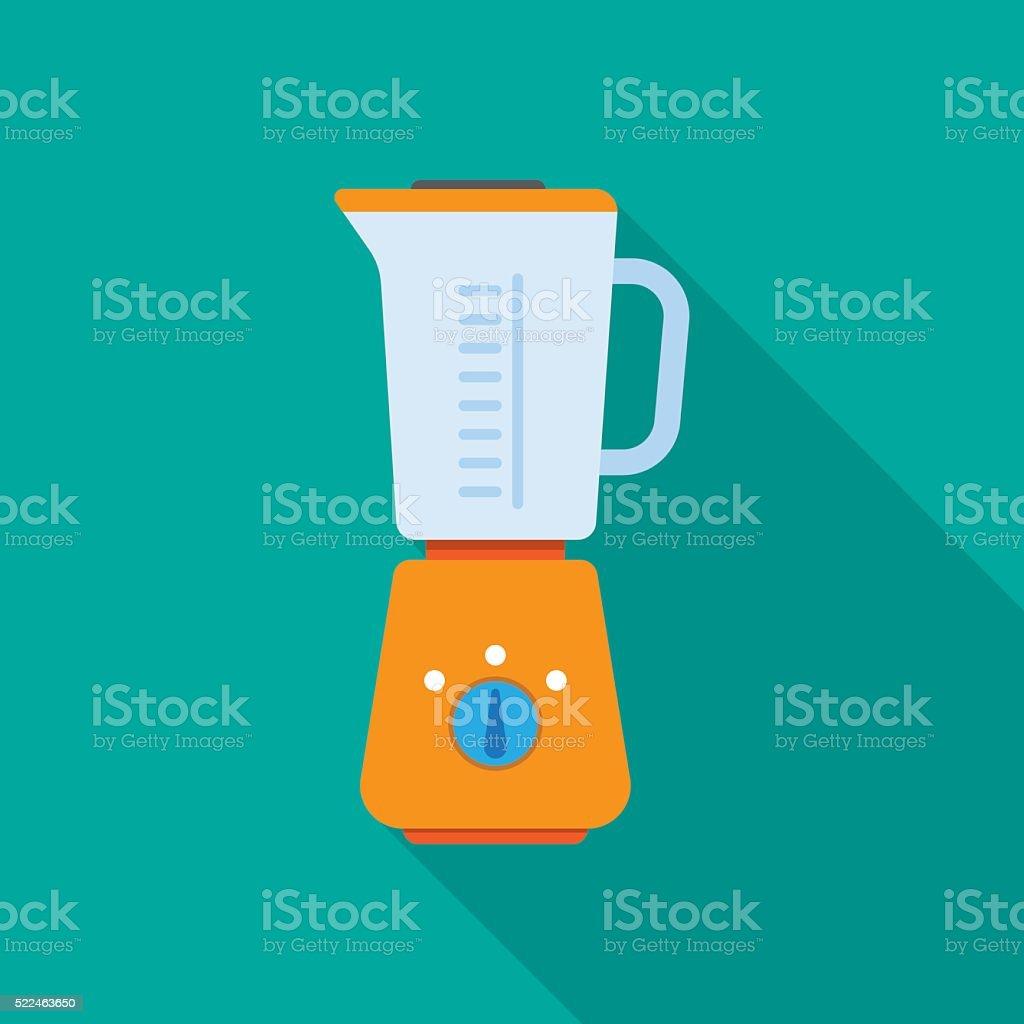kitchen blender machine vector art illustration
