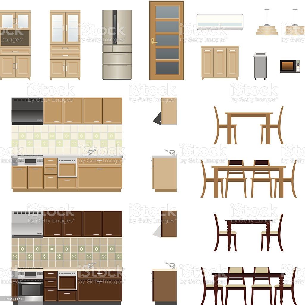 Dining Table Clip Art Vector Images Illustrations iStock
