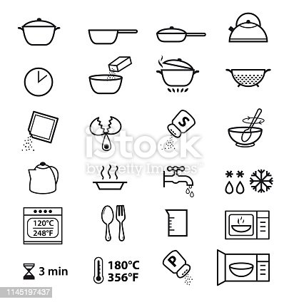 Vector elements on white background. Detailed for any scale. Can be used for packaging, labeling, design, advertising, etc.