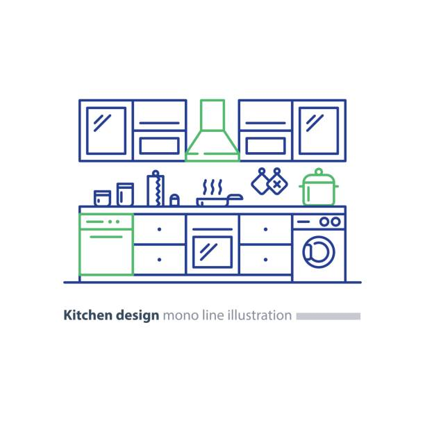 Kitchen Cabinet Clip Art: Royalty Free Kitchen Cabinet Door Clip Art, Vector Images