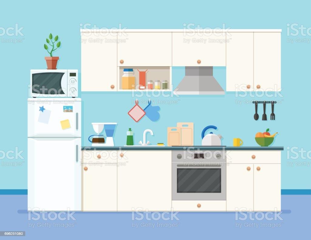 Etagere Dessus Micro Onde intérieur avec des meubles de cuisine Étagères avec des